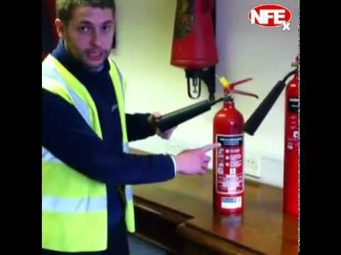 CO2 Fire Extinguishers - Nationwide Fire Extingushers