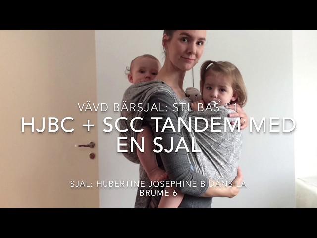 Vävd bärsjal: HJBC + SCC Tandem med en sjal