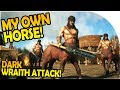 DARK AND LIGHT - MY OWN HORSE! - Quests, GOLD, DARK WRAITH ATTACK - Dark and Light Gameplay Part 2