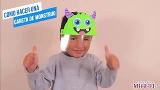 CARETA INFANTIL MONSTRUO