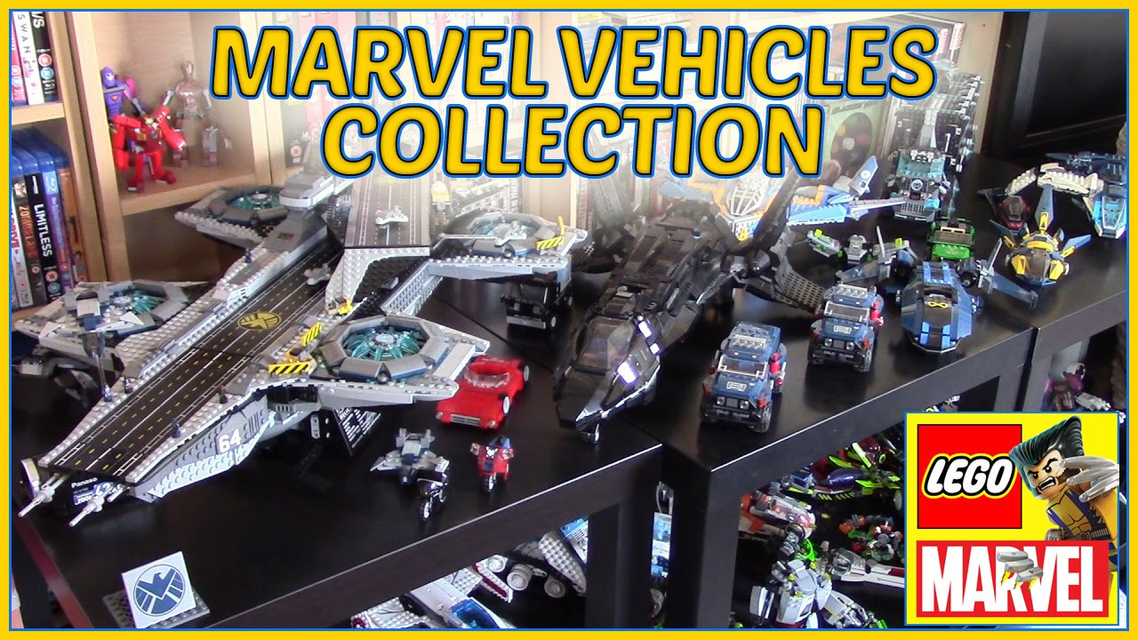 LEGO MARVEL Vehicles Collection - YouTube