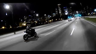 Motorcycle Ride Chicago - 1080p Full HD
