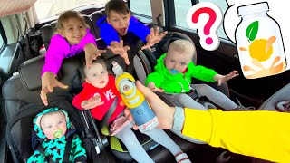 Five Kids We are sharing Song + more Children's Songs and Videos