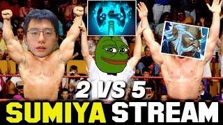 Intense Game with OP Fallen Sky | Sumiya Stream Moment #1272