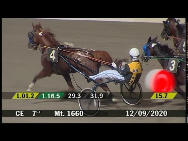 2020 09 12 | Corsa 7 | Metri 1660 | Premio Giostranti Di Cesena