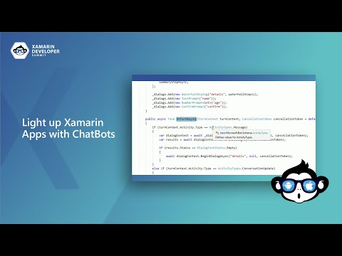 Light up Xamarin Apps with ChatBots   Xamarin Developer Summit