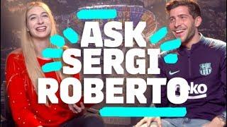👽 ¿DE QUÉ PLANETA VIENE MESSI? | Sergi Roberto #90secondschallenge