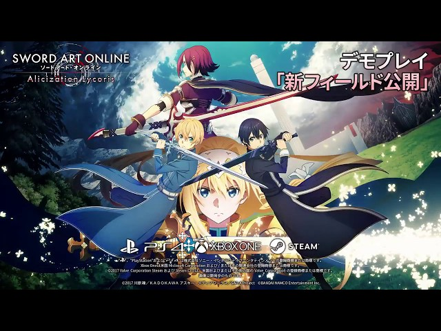Sword Art Online: Alicization Lycoris TGS 2019 gameplay
