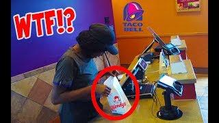 Returning Different Food Prank to Fast Food Restaurants