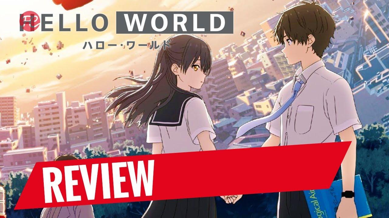 Download Hello World Review: Zeitreise, Liebesdrama & Thriller in dystopischem Anime-Setting