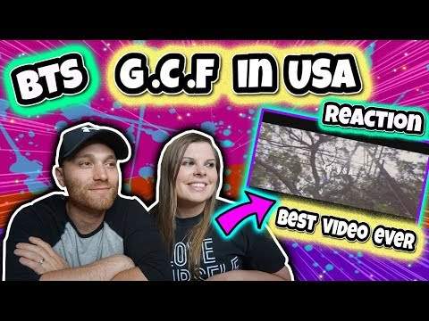 G.C.F In USA BTS JungKook Reaction