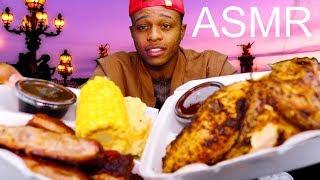 INTENSE ASMR BBQ Mukbang Eating Show