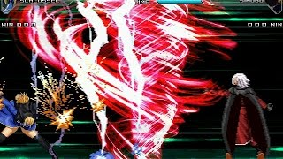 Mugen - Schlussel vs Sinobu (KOF Ex Unlimited Match)
