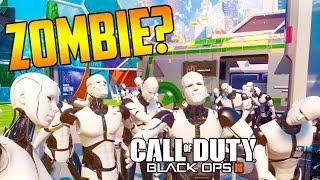 Easter Egg: Nuketown 2065 Cyborg Zombie Call of Duty Black Ops 3