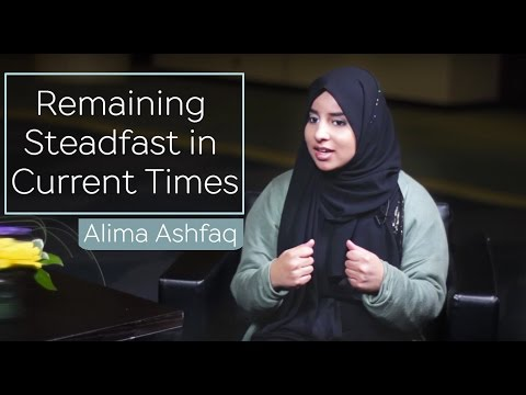Download Remaining Steadfast in Current Times | Alima Ashfaq