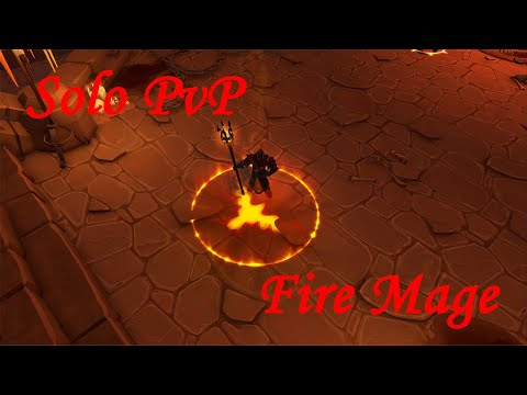 Albion Online. Solo PVP. Fire Mage.