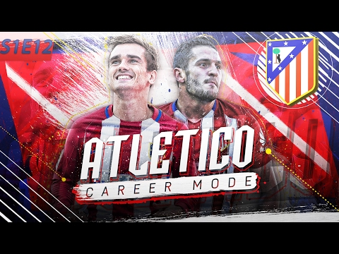 FIFA 17 Atletico Madrid Career Mode - S1E12 - Facing Barcelona Twice!! Champions League Action!!