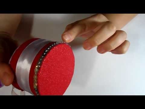 Hand Made Как сделать шкатулку / How to make a box Kanzashi