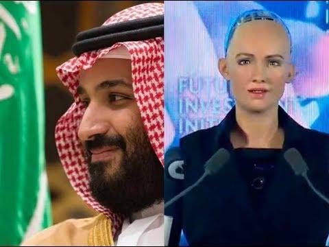 الروبوت ' صوفيا' الذى هدد بتدمير البشرية , ' يحصل على الجنسية السعودية ' .. !!