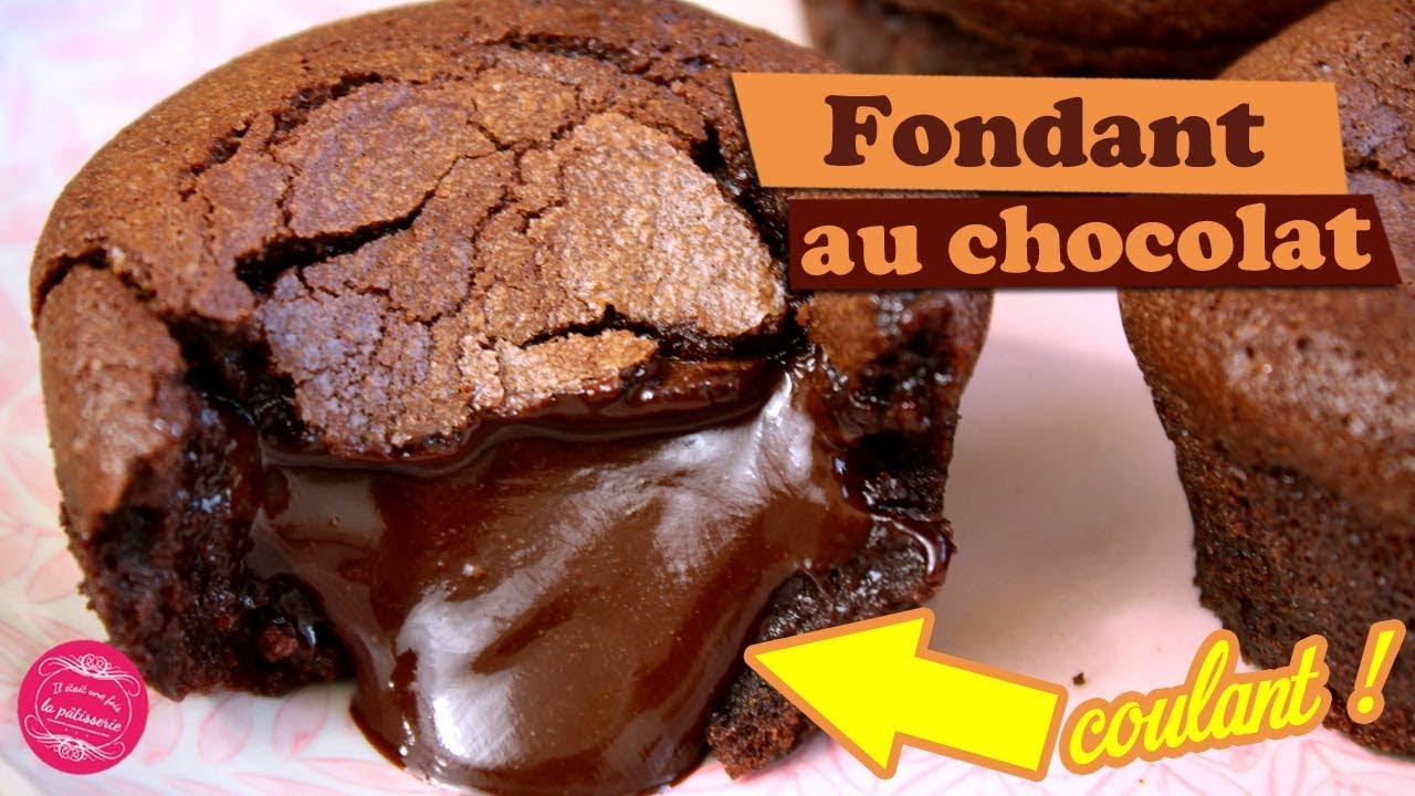 The Best Chocolate Fondant With Flowing Heart