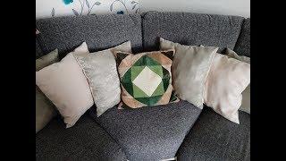 как сшить подушку своими руками. Декоративные подушки на диван