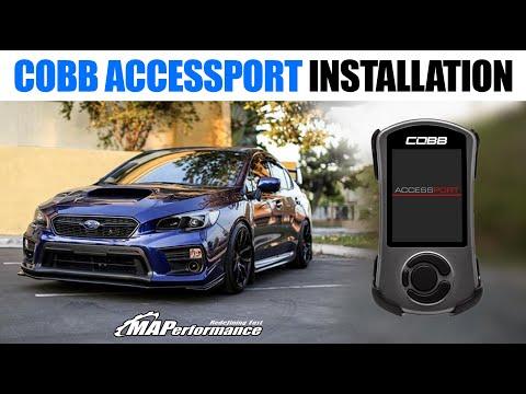 How to Install Cobb Accessport V3 2015+ Subaru WRX/STi