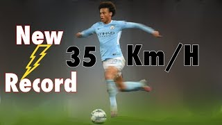 "Leroy sané hits ""35.48 km/h"" speed vs. chelsea -  fastest in premier league records"
