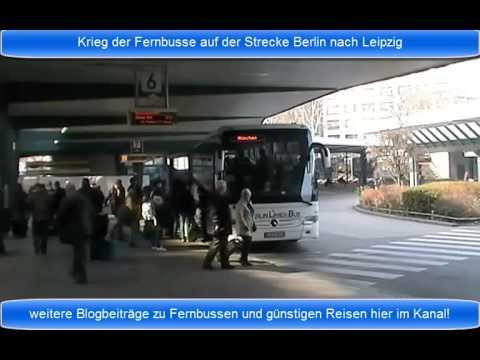 Fernbusse Berlin Leipzig