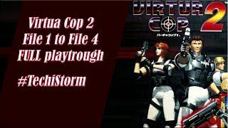 Virtua Cop 2 arcade pc game full playthrough