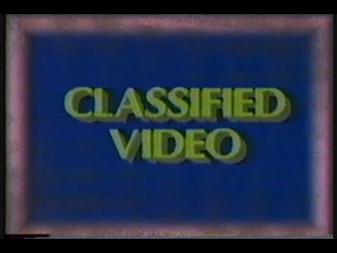 "KENS 5 San Antonio ""Classified Video"" January 1987"