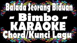 Balada Seorang Biduan - Bimbo Karaoke + Chord | Kunci Gitar
