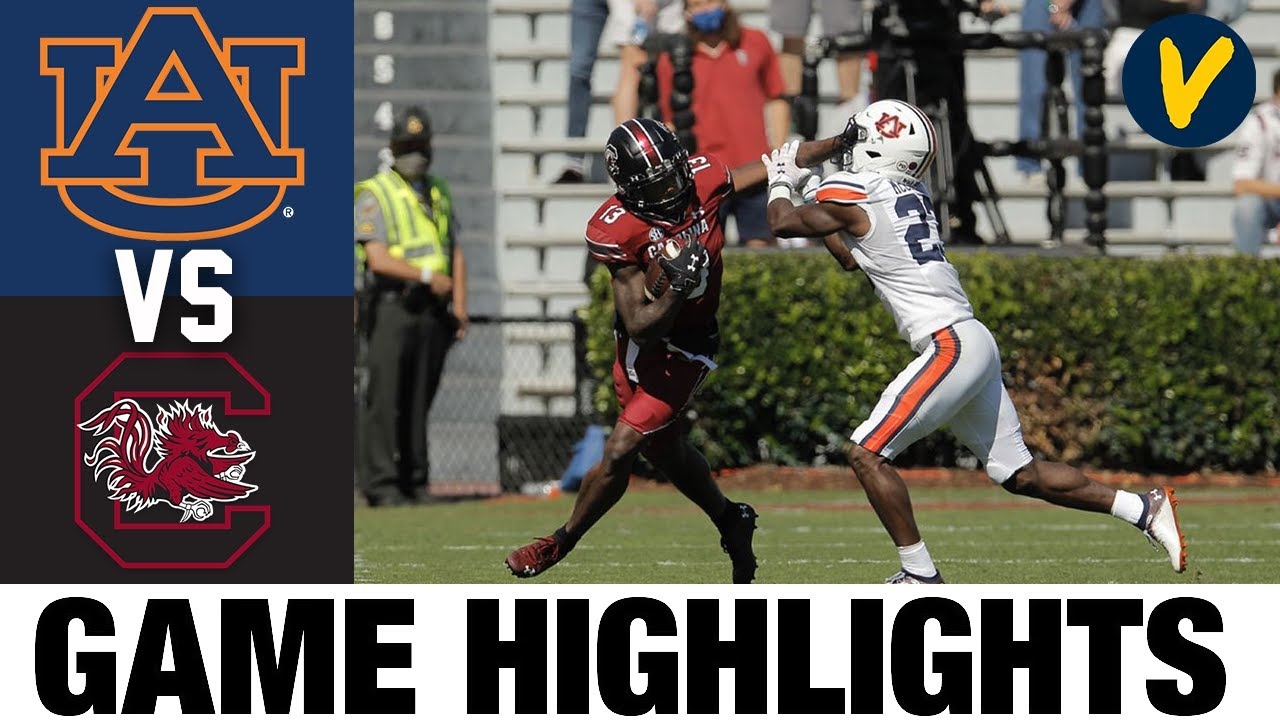 #15 Auburn vs South Carolina Highlights | Week 7 2020 College Football Highlights