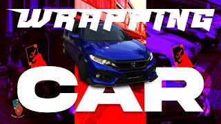 Toyota & Honda Car Wrapping, 2021 WRAPPING METHODE and New Style Wrapping Car
