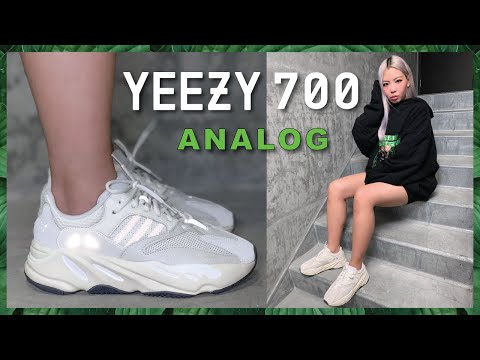 size 40 0f4eb 298e2 YEEZY BOOST 700 ANALOG | Review + Comparison - YouTube