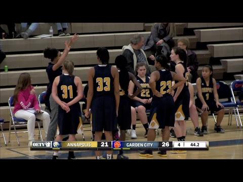 Cougar Girls Basketball: Garden City vs. Annapolis