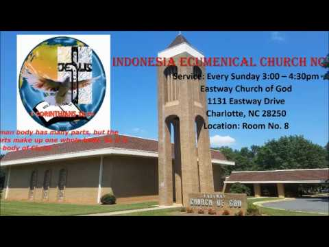 Jesus is the answer | Sept. 10, 2017 | Indonesia Ecumenical Church-NC