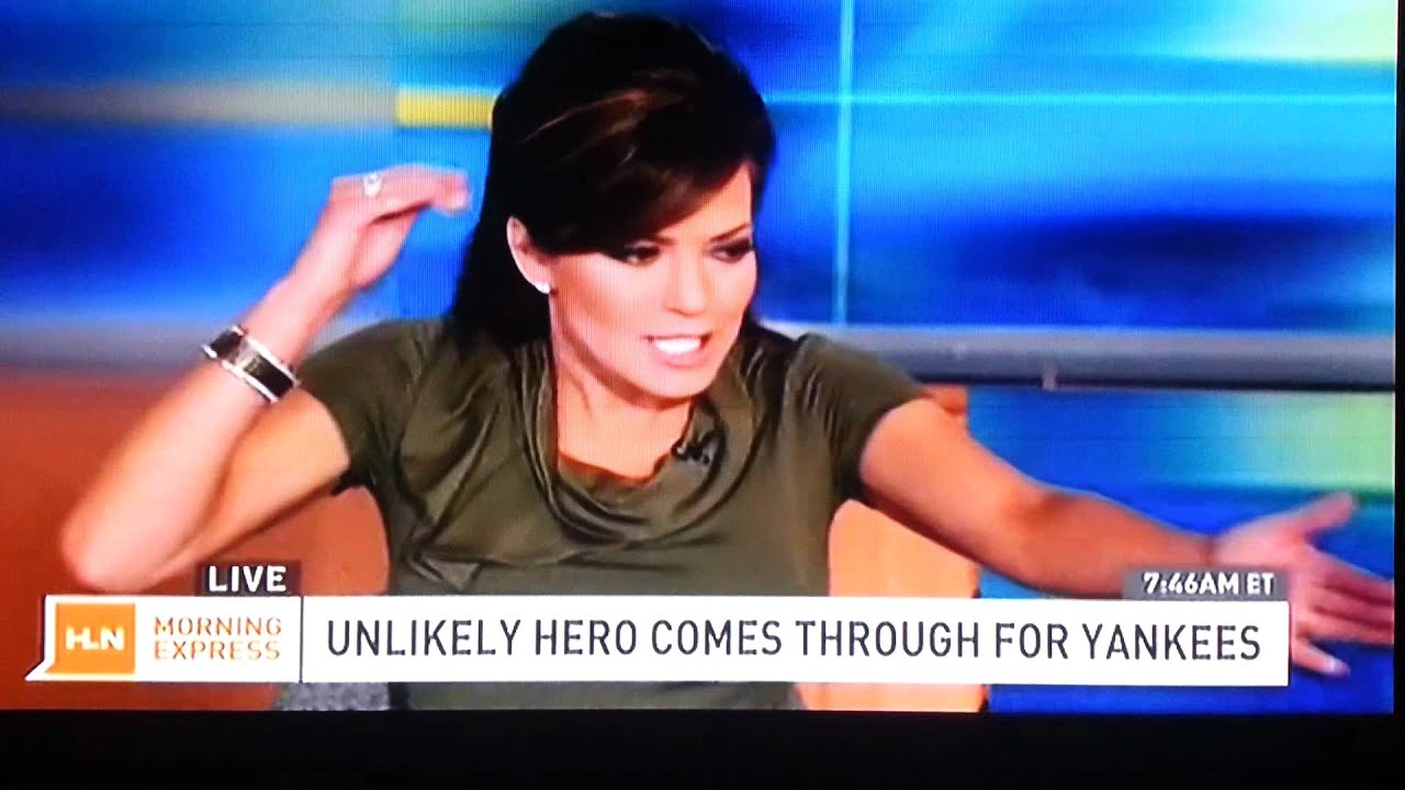 Robin Meade May Have Farted On Live Tv - Youtube-7283