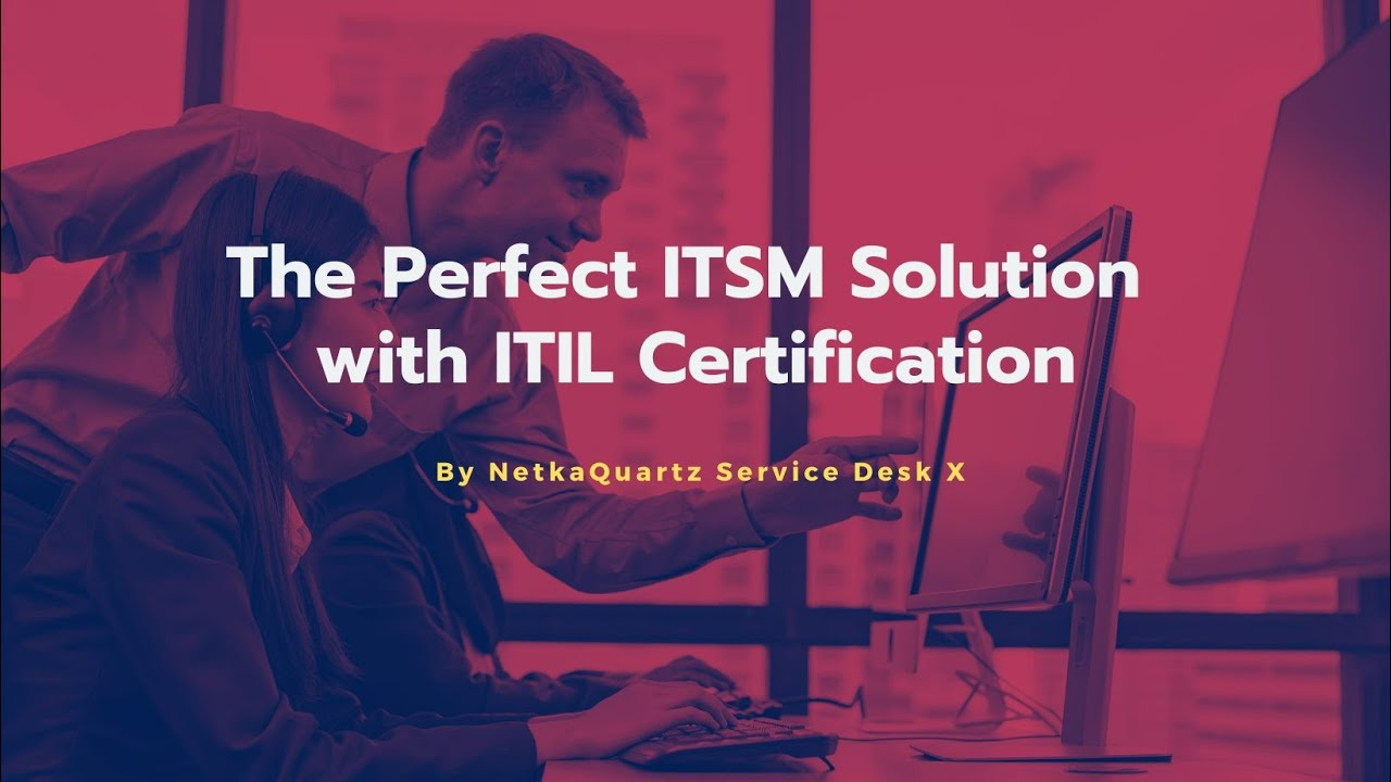 Leverage quality and standardize your IT services with NSDX SaaS, the certified ITIL 4 toolset