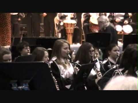 Albert Gallatin South Middle School Band: Africian Bell Carol