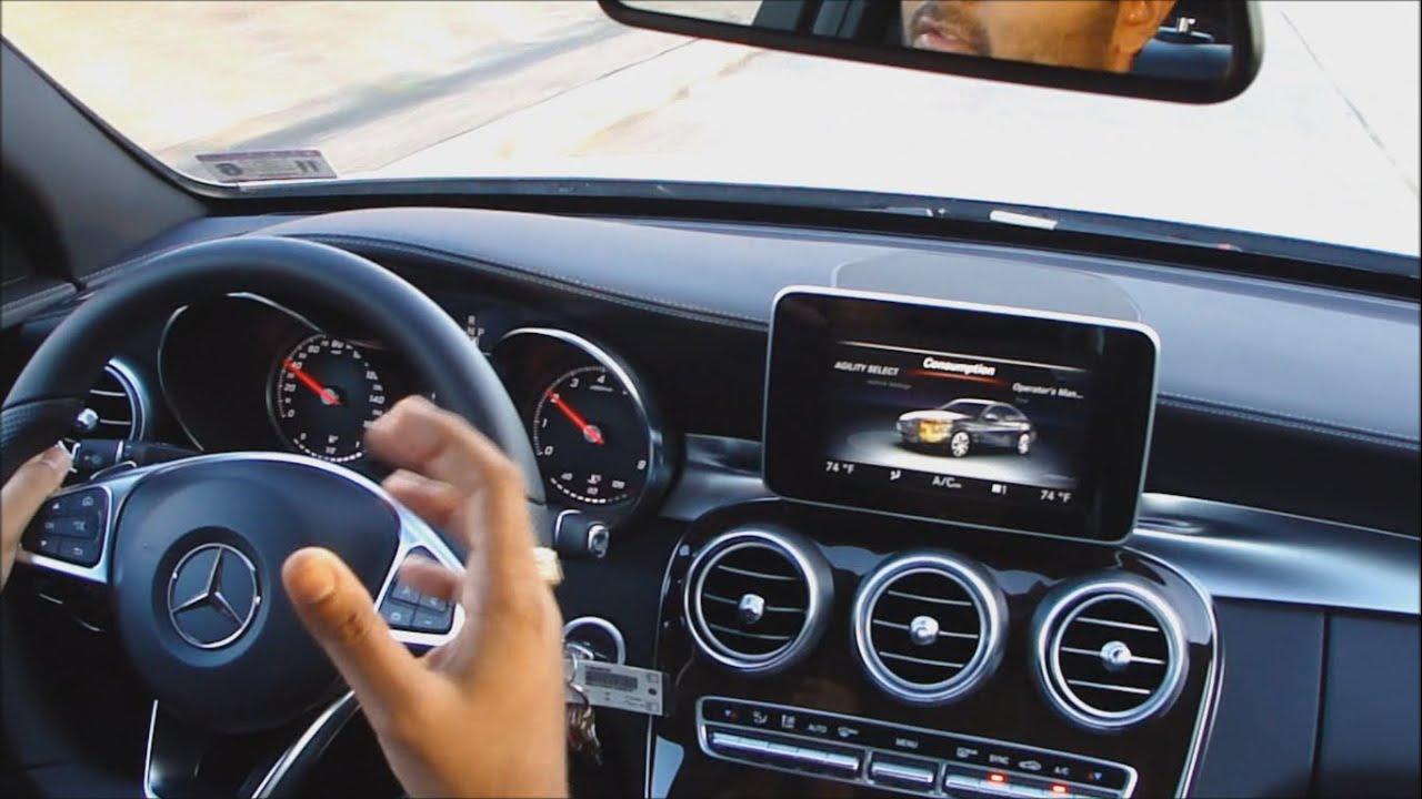 2015 Mercedes Benz C Class Drive Video Youtube