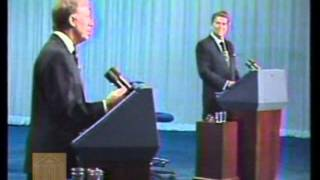"Reagan-Carter Oct. 28, 1980 Debate - ""There You Go Again"""