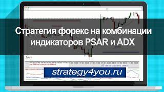 Стратегия форекс на комбинации индикаторов PSAR и ADX