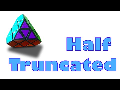 How to Make a Half Truncated Cube