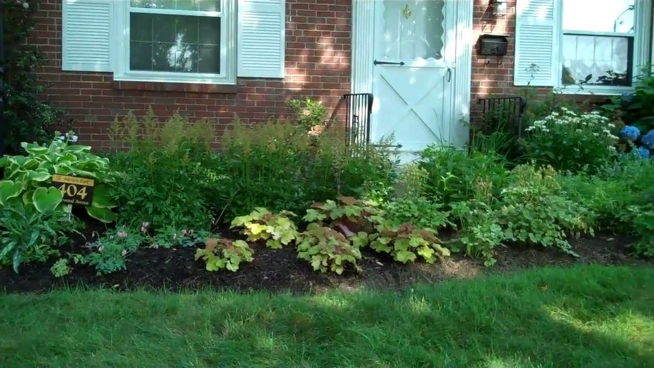 Landscaping design main line perennial garden on the main for Garden design subscription