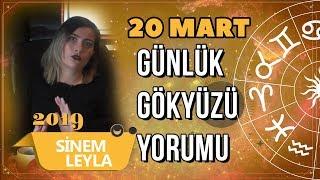 20 Mart Günlük Gökyüzü Yorumu   Sinem Leyla   Billur TV