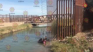Cruzan migrantes el muro, llegan a suelo estadounidense thumbnail