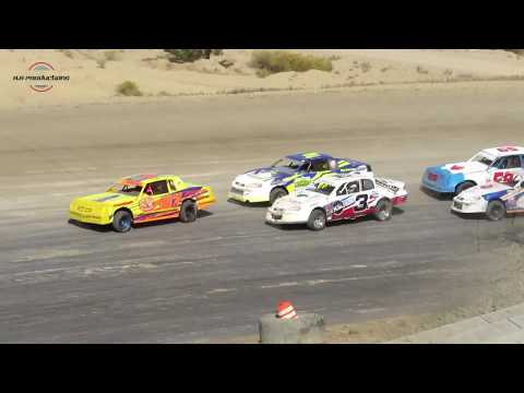 Desert Thunder Raceway IMCA Stock Car Main Event 9/29/18-Day Race