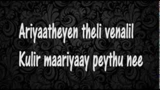 maunam swaramayi Lyrics - Ayushkaalam
