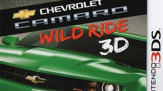 Chevrolet Camaro Wild Ride 3D Gameplay (Nintendo 3DS) [60 FPS] [1080p]