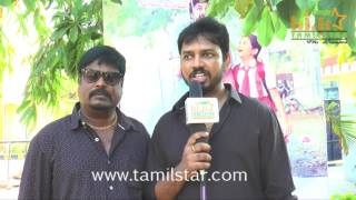 Editor Lawrence Kishore  At Nisaptham Movie Team Interview